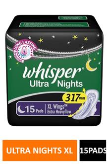 Whisper Ultra Nights Xl 15p