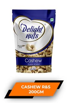 Delight Nuts Cashew R&s 200gm