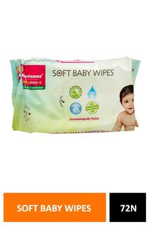Morison Soft Baby Wipes 72n