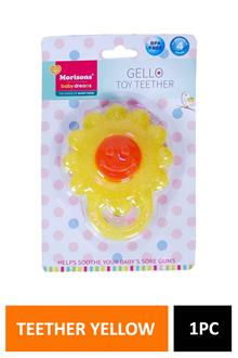Morison Gello Teether Yellow Flower