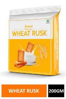 Amul Wheat Rusk 200gm