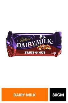 Dairy Milk Fruit & Nut 80gm