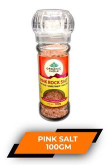 Organic India Himalayan Pink Salt 100gm