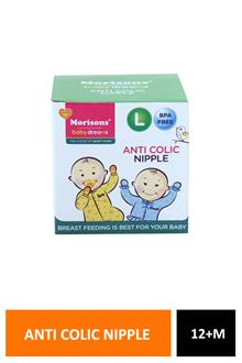 Morrisons Anti Colic Niple Long 12+m