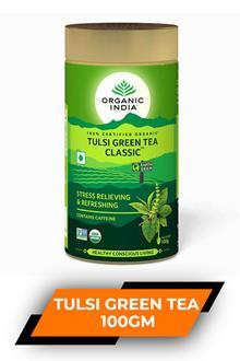 Organic India Tulsi Green Tea Classic 100gm