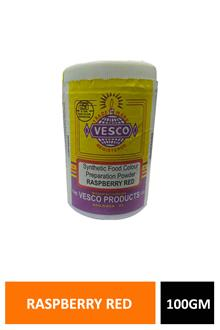 Vesco Food Color R.red 100gm
