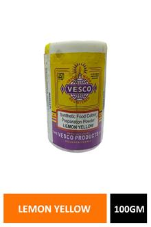 Vesco Food Colour L. Yellow 100gm
