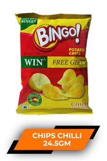 Bingo Potato Chips Chilli 24.5gm