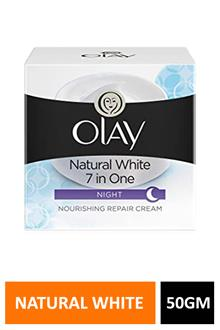 Olay Natural White 7 In One Night 50gm