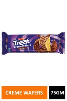 Britania Treat Creme Wafers Choco 75gm