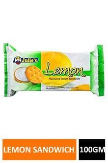 Julies Lemon Sandwich 100gm