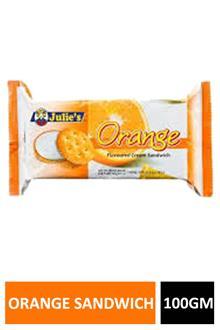 Julies Orange Sandwich 100gm