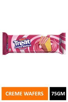 Britania Treat Creme Wafers Strawberry 75gm