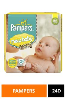 Pampers Active Baby Nb 24diapers