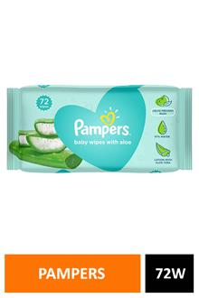 Pampers Baby Aloe 72 Wipes