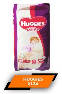 Huggies Xl 34pants
