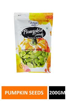 Delight Nuts Pumpkin Seeds R &s 200gm