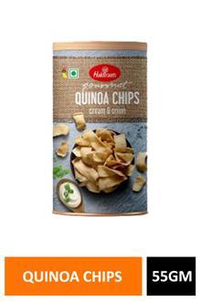 Haldiram Quinoa Cream & Onion Chips 55gm