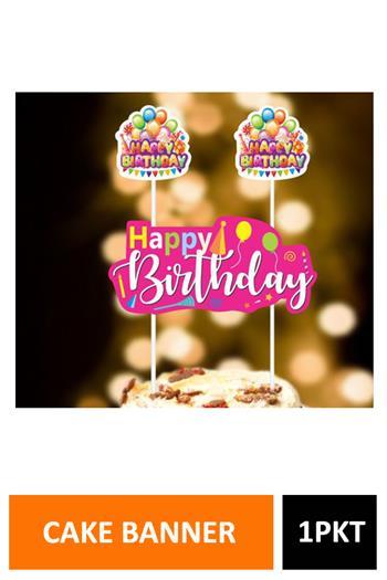 Sig Cake Banner Balloon Dt2092