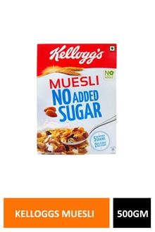 Kelloggs Muesli No Added Suger 500gm