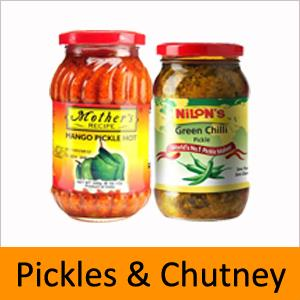 PICKLES & CHUTNEY
