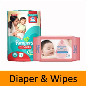 DIAPER & WIPES
