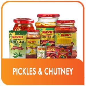 PICKLES & CHUTNEY