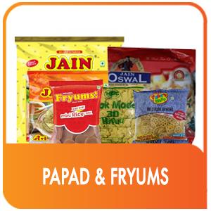 PAPAD & FRYUMS