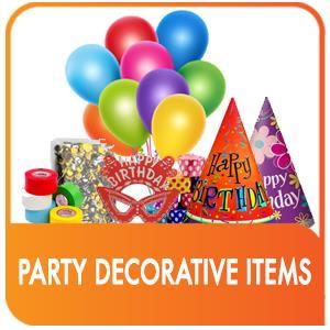 PARTY DECORATIVE ITEMS